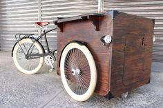 Bike Food Art Trike - Modelo padrão