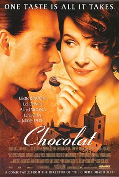 Chocolat, a movie given to me by my sister not long after my mother passed, gave me great comfort and still does.