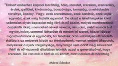 Márai Sándor Marvel, Quotes, Inspiration, Bridge, Quotations, Biblical Inspiration, Quote, Shut Up Quotes, Inspirational