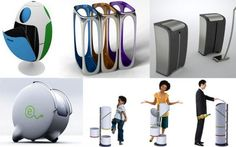 Image result for innovative recycling bins