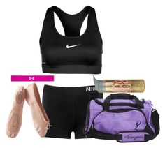 """first week of school: day 3"" by kaley-ii ❤ liked on Polyvore featuring NIKE, Porselli, Under Armour, remi14th and remi2019"