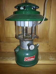 Green Vintage Coleman Lantern in Camas, WA (sells for $20)