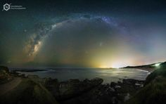 """Milky Way Beach"" by DavidMagro Photograhy"