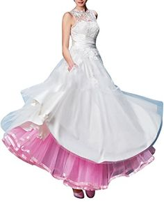Dresstells® Retro Ankle Length Petticoat Crinoline Un…