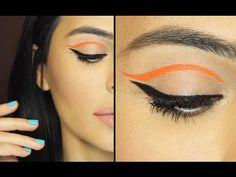 Graphic Eyeliner   Eye Makeup Tutorial - YouTube