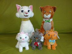 Aristocats plush toys by Informations About Aristocats plush toys by F. Aristocats plush toys by Informations About Aristocats plush toys by on DeviantA Disney Stuffed Animals, Cute Stuffed Animals, Big Plush, Cute Plush, Disney Plush, Disney Toys, Cute Disney, Baby Disney, Disney Nursery