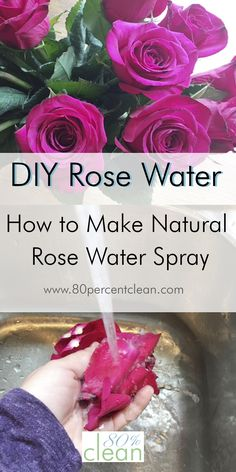 Love rose water spra