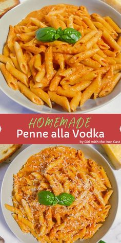 This homemade made from scratch penne alla vodka will be your new favorite pasta sauce. Perfect for pasta night with the family This homemade made from scratch penne alla vodka will be your new favorite pasta sauce. Perfect for pasta night with the family Best Pasta Dishes, Pasta Dinner Recipes, Easy Pasta Recipes, Easy Meals, Penna Pasta Recipes, Sauces For Pasta, Rigatoni Recipes, Pasta Recipies, Healthy Pasta Dishes