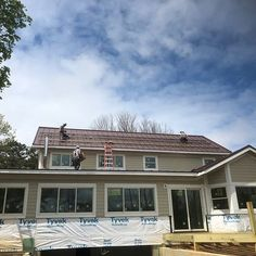 Solar panels going up. 😃 Thanks @sugarhollowsolar #solar #buildingonreputation #ashevillebuilder