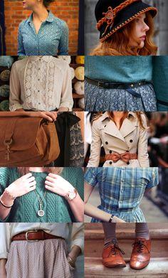 perpetuallylocked:  ND Trio Fashion↔ Nancy Drew