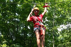 Ziplining at Treetop Adventure Outdoor Adventures, Ontario, Bucket, Explore, Country, Rural Area, Buckets, Country Music, Aquarius