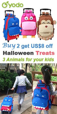 779360a19f27 Amazon.com   Yodo Zoo 3-Way Toddler Backpack with Wheels or Little Kids  Rolling Suitcase Luggage