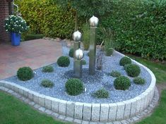 Möbel Und Zubehör, Gartenbrunnen berlin gestalten ideen für haus dekoration aussen bauen garten tipps gestaltung mit gartenumrandung stein und gartenbeet kies plus edelstahl garten brunnen: