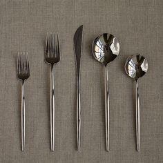 Cutipol Moon Cutlery - 5 Pcs - modern - flatware - - by HORNE