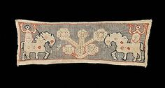 early 19th century Culture: Russian Medium: linen, silk Dimensions: 18 x 6 in. (45.7 x 15.2 cm) Classification: Textiles Credit Line: Brooklyn Museum
