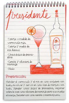 Receta cóctel Presidente - Descubre Catabox - Packs Gin Tonic y Vino - El regalo perfecto para los amantes de las cosas buenas y bonitas