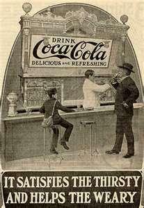 Vintage 'Coke' ad