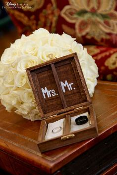 Love this idea for the ring bearer