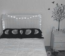 blackandwhite, grunge, hipster, indie, pale, room, tumblr, vintage, First Set on Favim.com