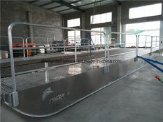 Aluminum Barge Boat/Transport Boat/Landing Craft/Aluminum Pontoon Bridge