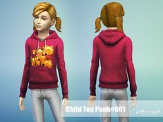 Sweatshirt BabyPooh Found in TSR Category 'sims 4 Female Child Everyday' Sims 4 Tsr, Sims Community, Sims Resource, Hoodies, Sweatshirts, Boy Or Girl, Graphic Sweatshirt, Female, Children