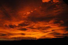 Napnyugta, Sky, Vörös, Ég