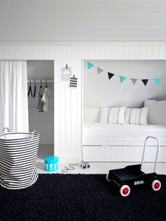 Mała garderoba do pokoju dziecięcego