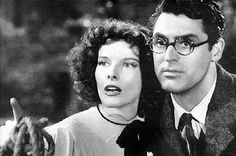 "Funny movie. ""Bringing Up Baby"" is a ""screwball comedy"" starring Cary Grant and Kathryn Hepburn."