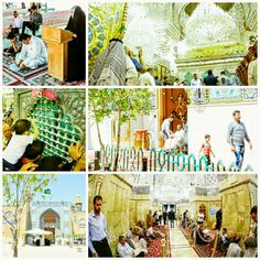 [ 12 Ramadan 1437 ]  Right Now The Atmosphere Inside Al-Jawadain Holy Shrine.