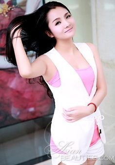 Centenas de belezas: Haiyan, mulher asiática que procuram companheirismo romântico