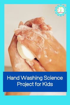 What hand-cleaning method is best? This fun hand washing science hand washing science project brings to life the importance of handwashing for kids. Amazing Science Experiments, Elementary Science Experiments, Science Projects For Kids, Science Activities For Kids, Stem Activities, Halloween Science, Hand Washing, Stem Challenges, Preschool