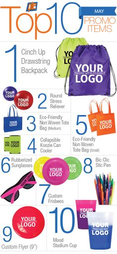 10 Most Popular Promotional Products of May 2014