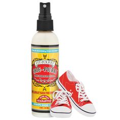 Poo~Pourri Shoe Odor Eliminator is an odor stomping blend of cedarwood, eucalyptus and grapefruit essential oils that help eliminate shoe stink! Deodorize Shoes, Grapefruit Essential Oil, Odor Eliminator, Poo Pourri, Toy Store, Deodorant, Cleaning Supplies, Essential Oils, Bottle