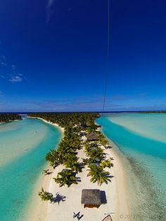 Aitutaki, Cook Islands, NZ. No matter what, youre wakin up on the right side of the bed!