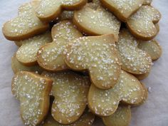 Roasted Flour Shortbread Cookies - Dorie Greenspan