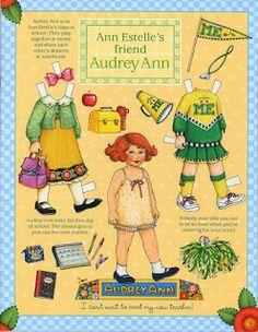 Audrey Ann... school time Miss Missy Paper Dolls: Mary Englebreit