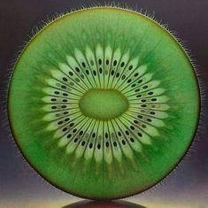 Perfecta armonia en la naturaleza del kiwi