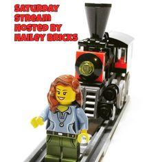Join the Lego Saturday stream hosted by @hailey_bricks YouTube channel! #lego #legominifig #minifig #toyphotography #minifigures  #legocity #bricks #brickcentral #afol  #toycrewbuddies  #legostagram #Legos #toys #tubelug #saturdaynighttrainwreck by mrbonesbricks