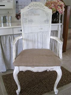 DIY chair makeover junk to treasure