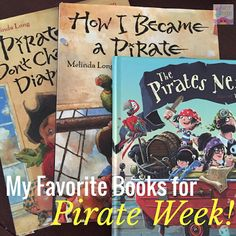 Simply Speech: My 10 Favorite Books for Pirate Week! Pinned by SOS Inc. Resources. Follow all our boards at pinterest.com/sostherapy/ for therapy resources.