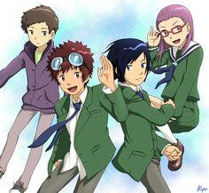 Los chicos de Digimon 02 para TRI