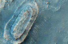Ancient exposed bedrock on Mars!