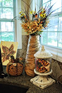 Pumpkin Makeover and a Fall Kitchen |