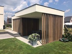 Garage Shed, Exterior, Pool Houses, Ceiling Design, Patio Design, Backyard Patio, Location, Tiny House, Facade