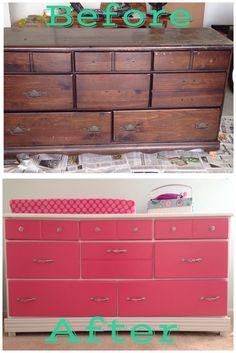 Jenna nursery DIY furniture