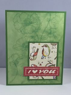 Love card. MFT sketch