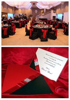 Red Black And Silver Wedding | ... the Bride and Groom: Red, Silver ...