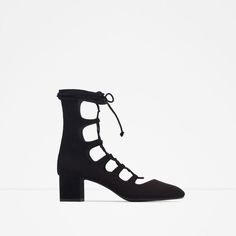 ZARA - NEW IN - LACE-UP HEELED SHOES