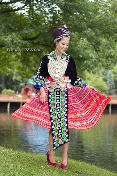 Proud to be Hmong. I love our fashion.