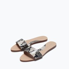 ZARA - SHOES & BAGS - PRINTED SANDALS